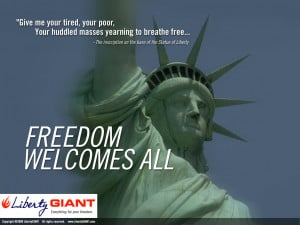 Freedom Welcomes All