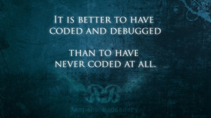 What are your favorite quotes about software bugs?