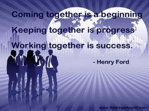 Coming Together, Keeping Together, and Most Importantly, Working ...