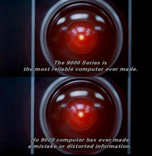2001: A Space Odyssey #HAL 9000 #quotes #Douglas Rain #Kubrick # ...