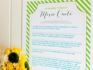 10 Wedding Shower Games and Activities