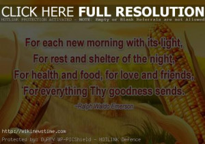 Thanksgiving Day : Thanksgiving Quotes, Sayings, Wallpapers