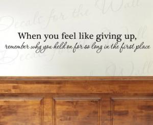 Motivational Inspiring Achievement Success - Adhesive Vinyl Wall ...
