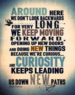 Stay strong, move forward