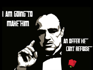 The Godfather - Don Corleone by joaood