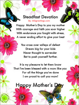 Funny Mothers Day Poems And Quotes