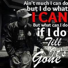 Till it's gone... More