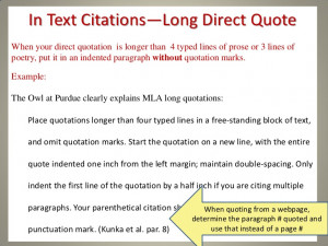 How to Quote and Cite a Play in an Essay Using MLA Format
