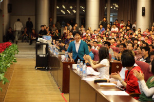 Academician Andrew Chi-Chih Yao Speaks at Xinghuo Forum