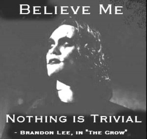 Brandon Lee. The Crow.Famous Quotes, Leeth Crows, Brandon Lee Th, Dust ...