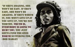 love it bob marley quote
