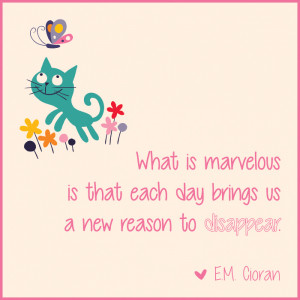 Illustrated Quotes by Emil Cioran to Get You Over the Hump Day
