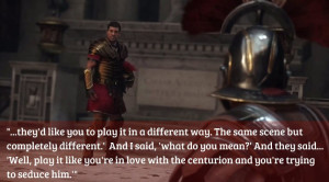 And how did the opportunity to work in Ryse come along?