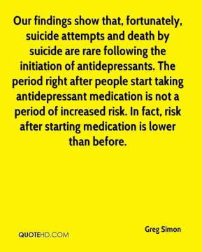 findings show that, fortunately, suicide attempts and death by suicide ...