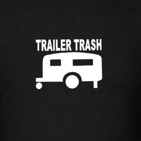 Design ~ Trailer trash t-shirt