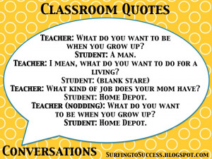 Funny Classroom Quotes