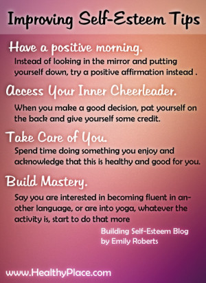 How to Increase Your Self-Esteem Today - www.healthyplace.com/blogs ...