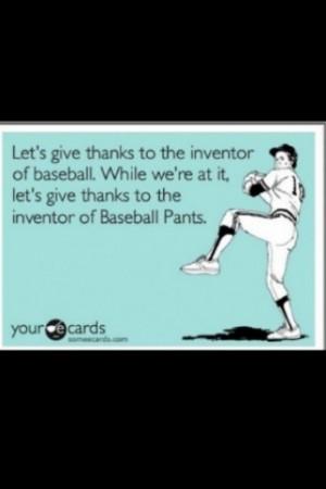 Baseball .... Amen! @Sara Eriksson! ⚾