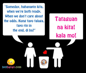 Pinoy Break Up Banat and Tagalog Break Up Lines