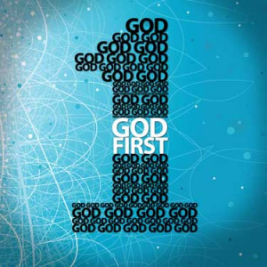 Jesus. In practice -- because God loves people -- loving Him