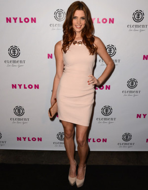 Cover girl Ashley Greene showed up at the launch party for Nylon ...