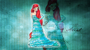 Walt Disney Princess Ariel High Definition Wallpaper with resolution ...