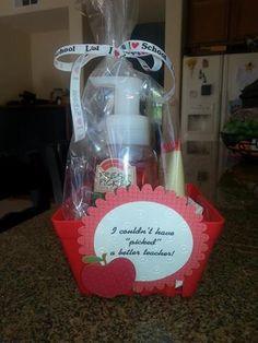 Teacher Gift - Fresh Picked Apples soap, hand sanitizer & lotion from ...