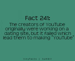 YouTube Creator : Fact Quote