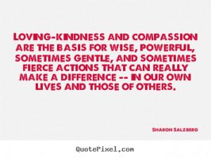 Sharon Salzberg Love Quote Canvas Art