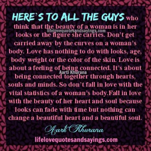 Men Love Women With Curves Quotes Don't fall in love with just