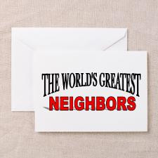 Best Neighbor Greeting Cards
