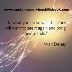 Customer Loyalty Quote Walt...