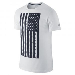 Nike Men's USA Flag Tee White