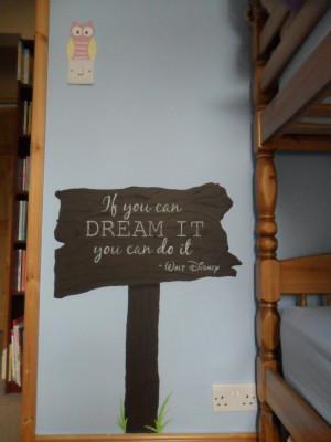 Walt Disney Quote Wall Painting by WDWFreak98