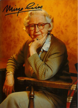 "Miep Gies is dead and most people say ""Who?"""