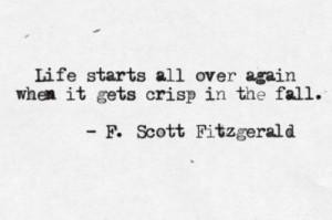 quote lit The Great Gatsby F. Scott Fitzgerald
