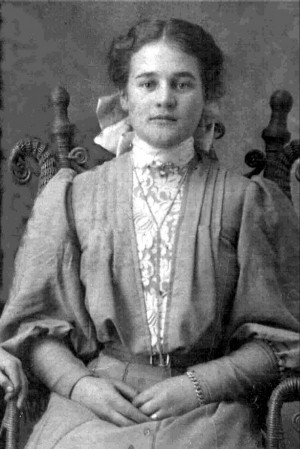 florence farnworth was born on 25th of january 1890 in mt pleasant