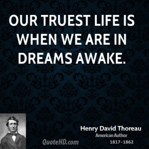 quotes about life by henry david thoreau