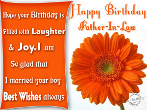 Birthday Quotes For Father In Law From Daughter In Law ~ Quotes For ...