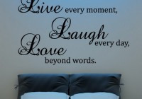 Birds and Family Love Quotes and Sayings Wall Decals Murals for Living ...
