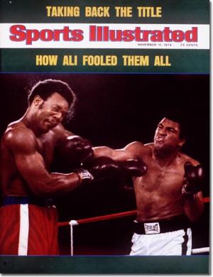 Quando Muhammad Ali e George Foreman eram reis: os 40 anos da luta ...