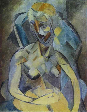 Pablo Picasso. Young Woman. 1909 year