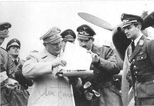 Generalmajor Adolf Galland...