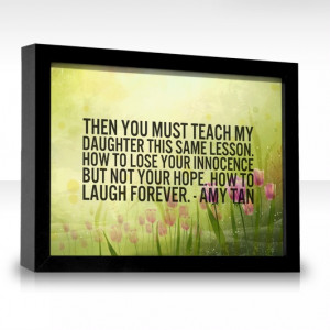 Amy Tan quote