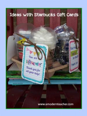 Parent Appreciation Idea!