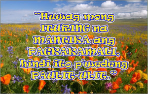 Filipino Life Quotes - Cooking Oil