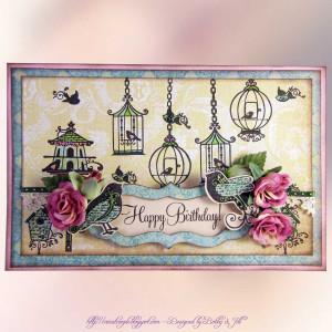60th Birthday Wishes Cricut Couple Wish Card Tweet Happy Sms Birdcage ...