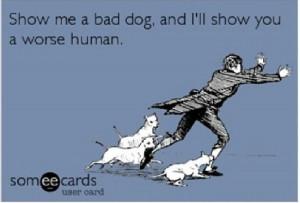 Show Me A Bad Dog