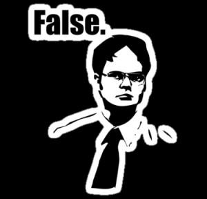 MrJamma › Portfolio › Dwight Schrute False