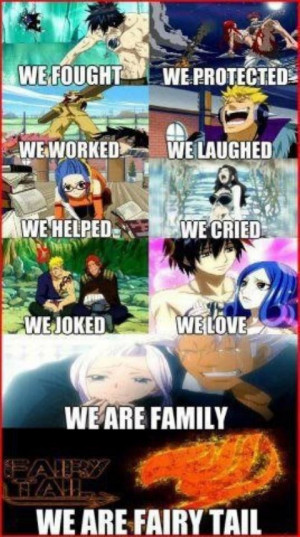 FAIRY TAIL Cool Anime quotes